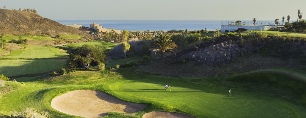 Jandia Golf: view to the sea